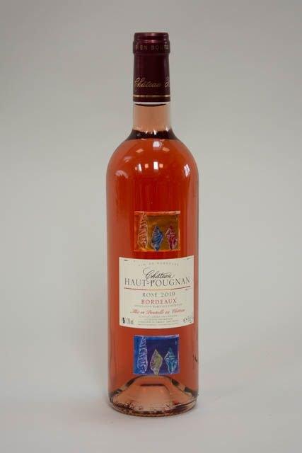 Chateau Haut Pougnan fransk rosé 2019