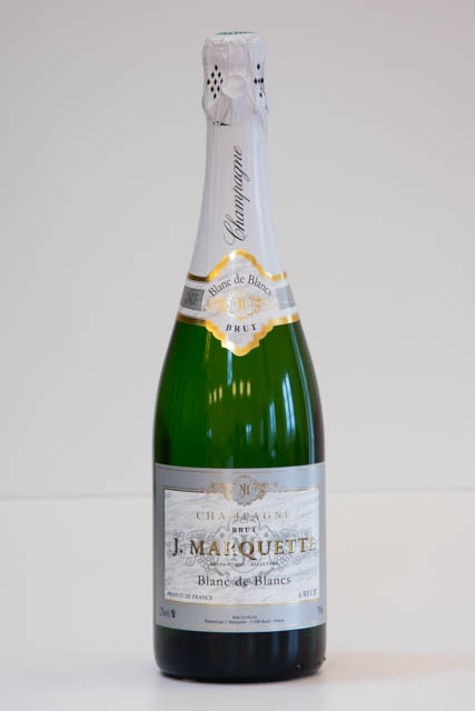 J. Marquette Blanc de Blanc champagne