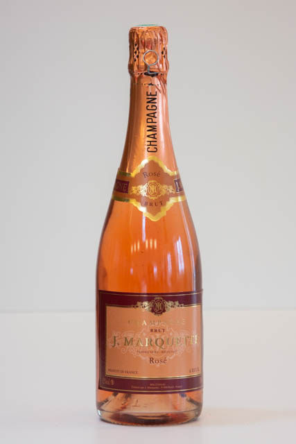 J. Marquette Rosé champagne