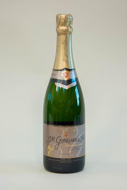 JM. Gobillard et Fils Demi Sec Tradition champagne