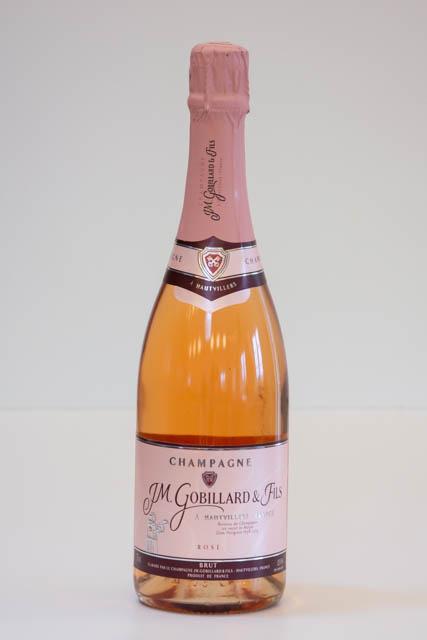 JM. Gobillard et Fils Rosé champagne