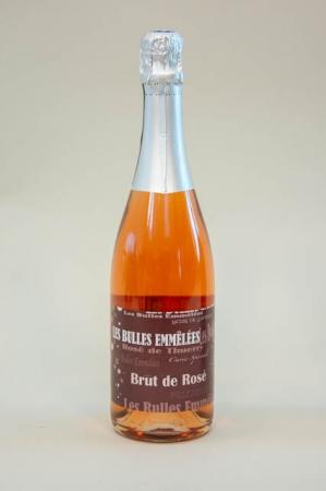 Les Bulles Emmélées Brut de Rosé Thuerry fransk mousserende vin