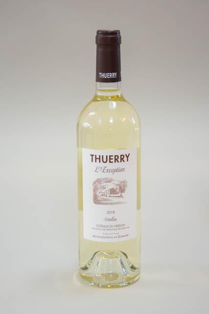 Thuerry L'Exception Blanc 2018 fransk hvidvin