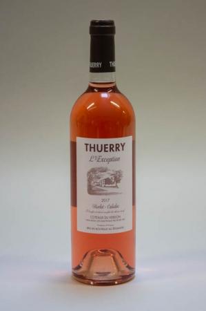 Thuerry L'Exception Rosé 2017 fransk rosé
