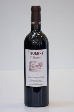Thuerry L'Exception Rouge 2014 fransk rødvin